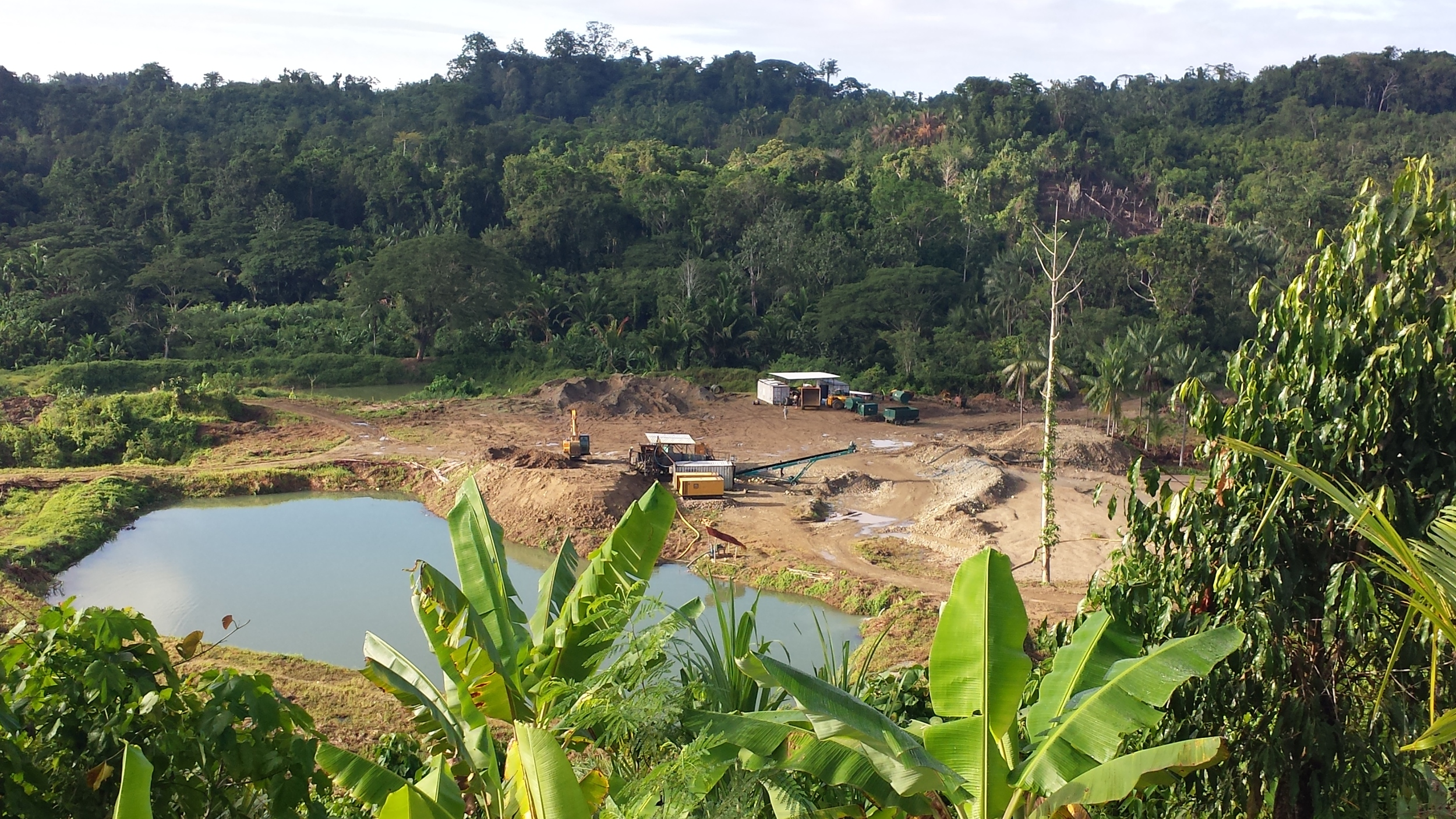 Karbine Mining Gold Operation in Papua New Guinea