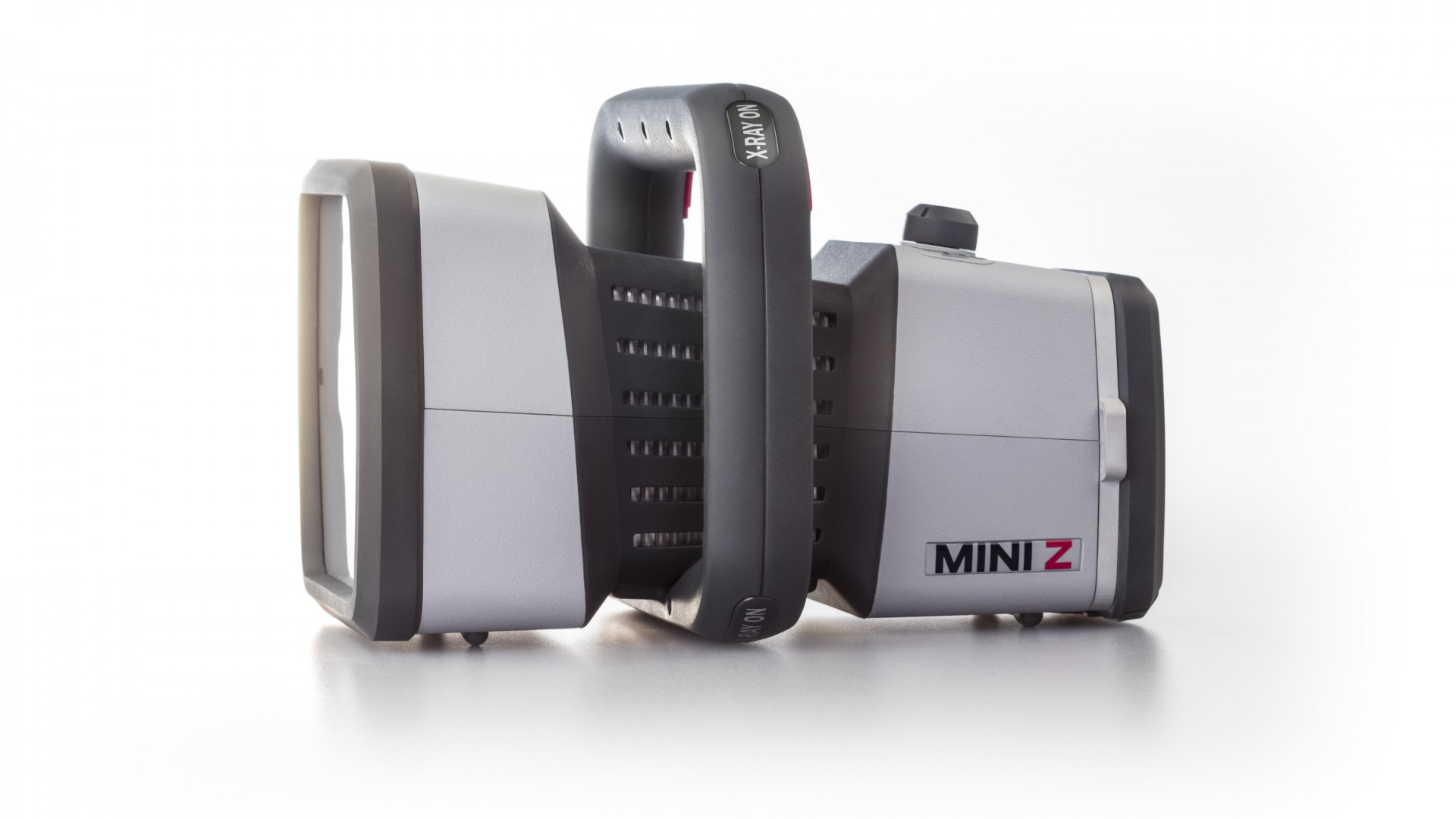 The Mini Z: the world's first handheld, battery-powered Xray detection system.
