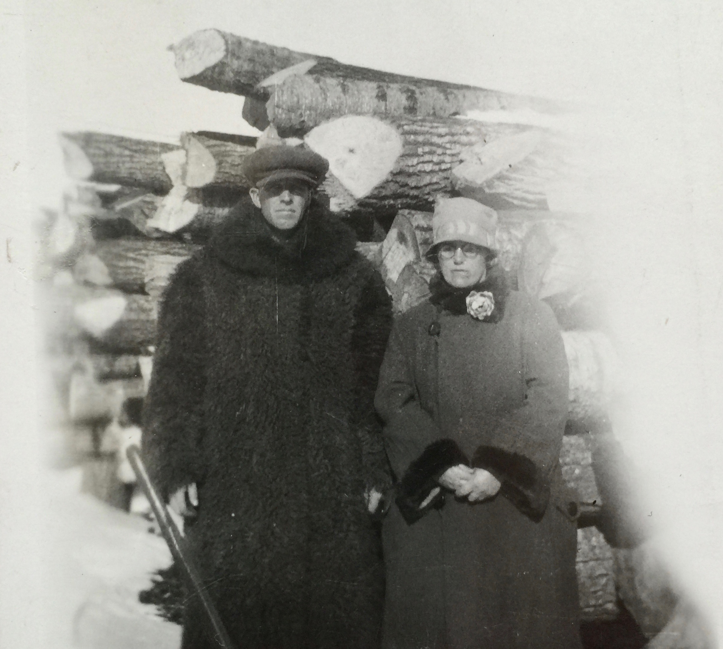 My parents were raised on farms on the prairies. Their ancestors came from Scotland, England, Ireland, and Holland.These old photos can make grandparents look remote and austere. They were anything but that.