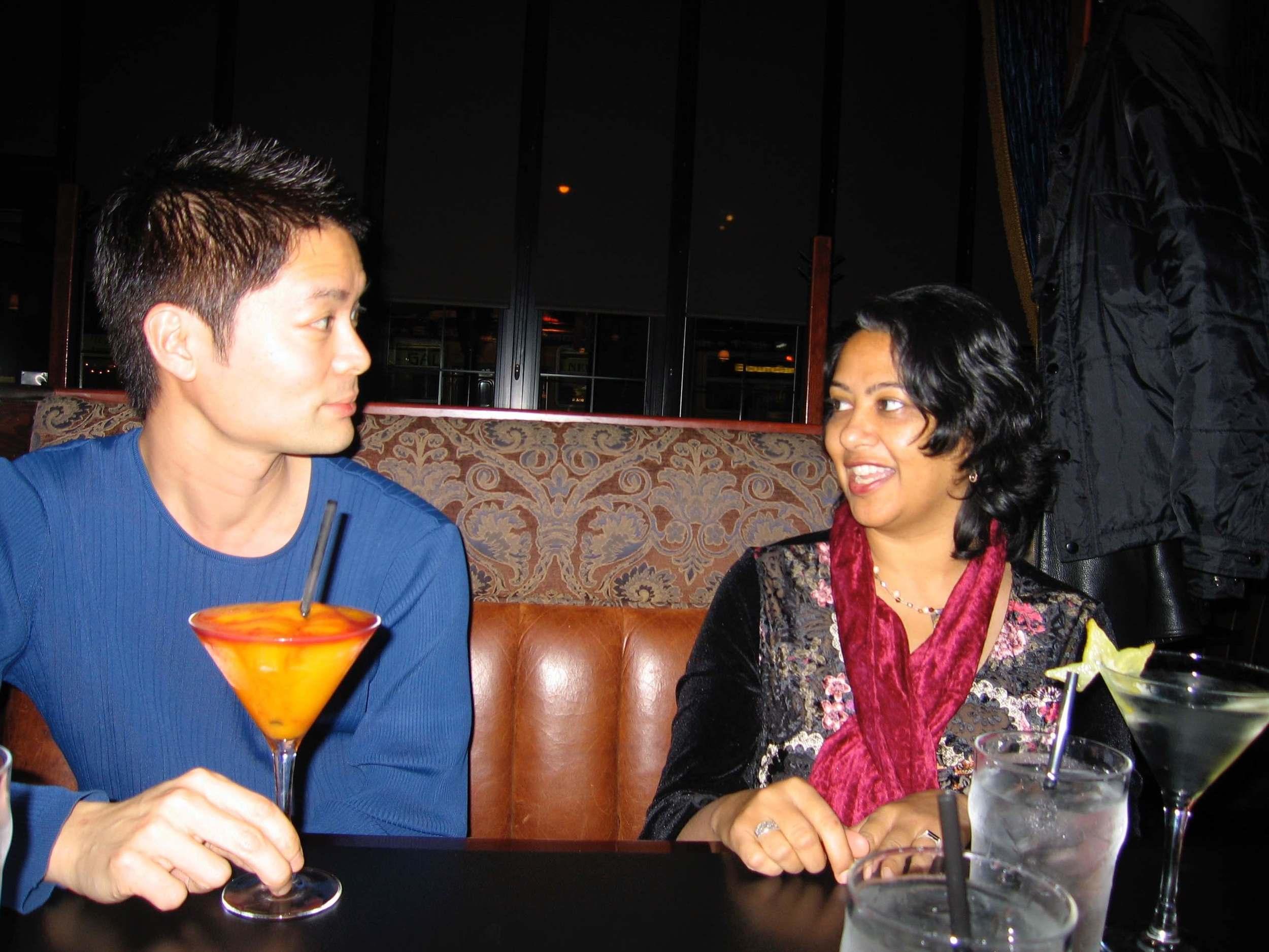 Greg and Rshmi.