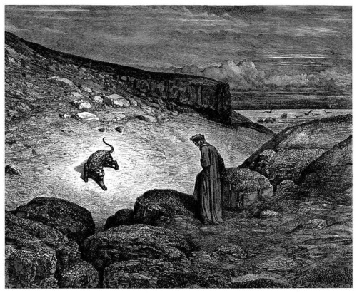 Gustave Doré's 1857 illustrations to the beginning of Dante's  Inferno .