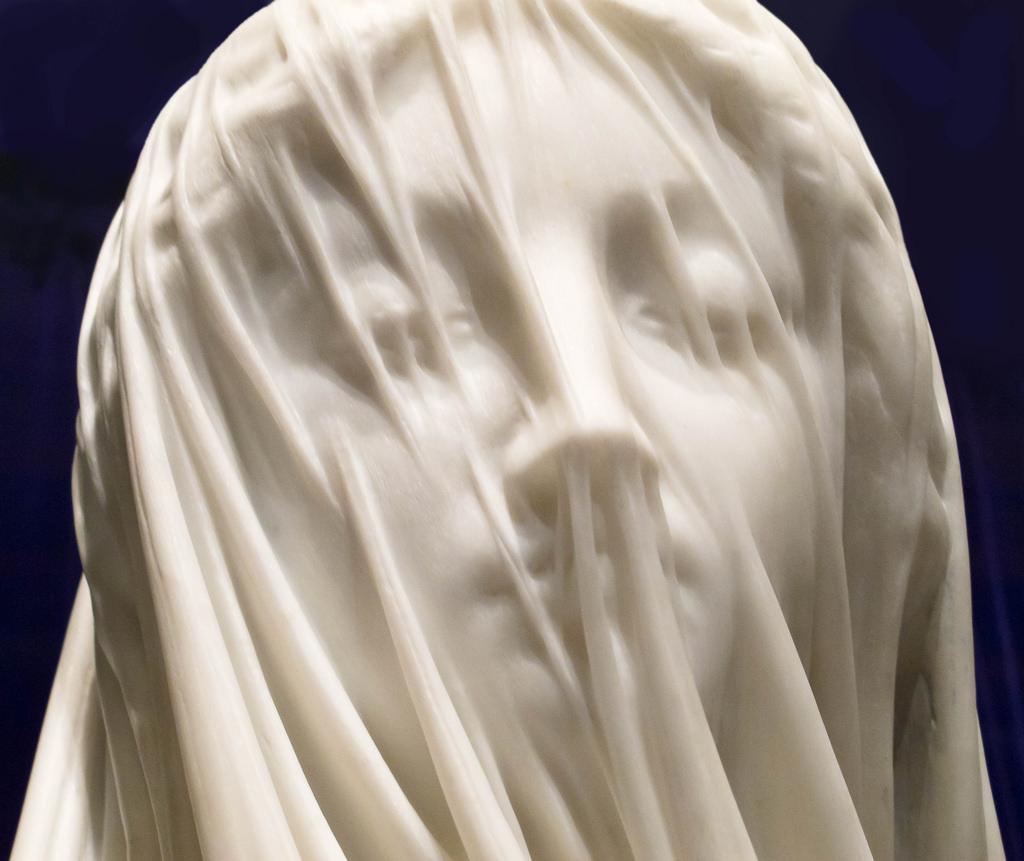 The Veiled Virgin , Giovanni Strazza, 1856. From https://strm.pl/g/HistoriaSztuki