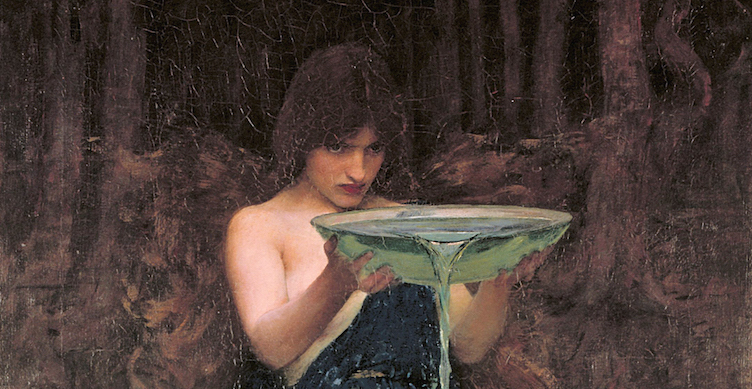 Circe Invidiosa (John Waterhouse, 1892)