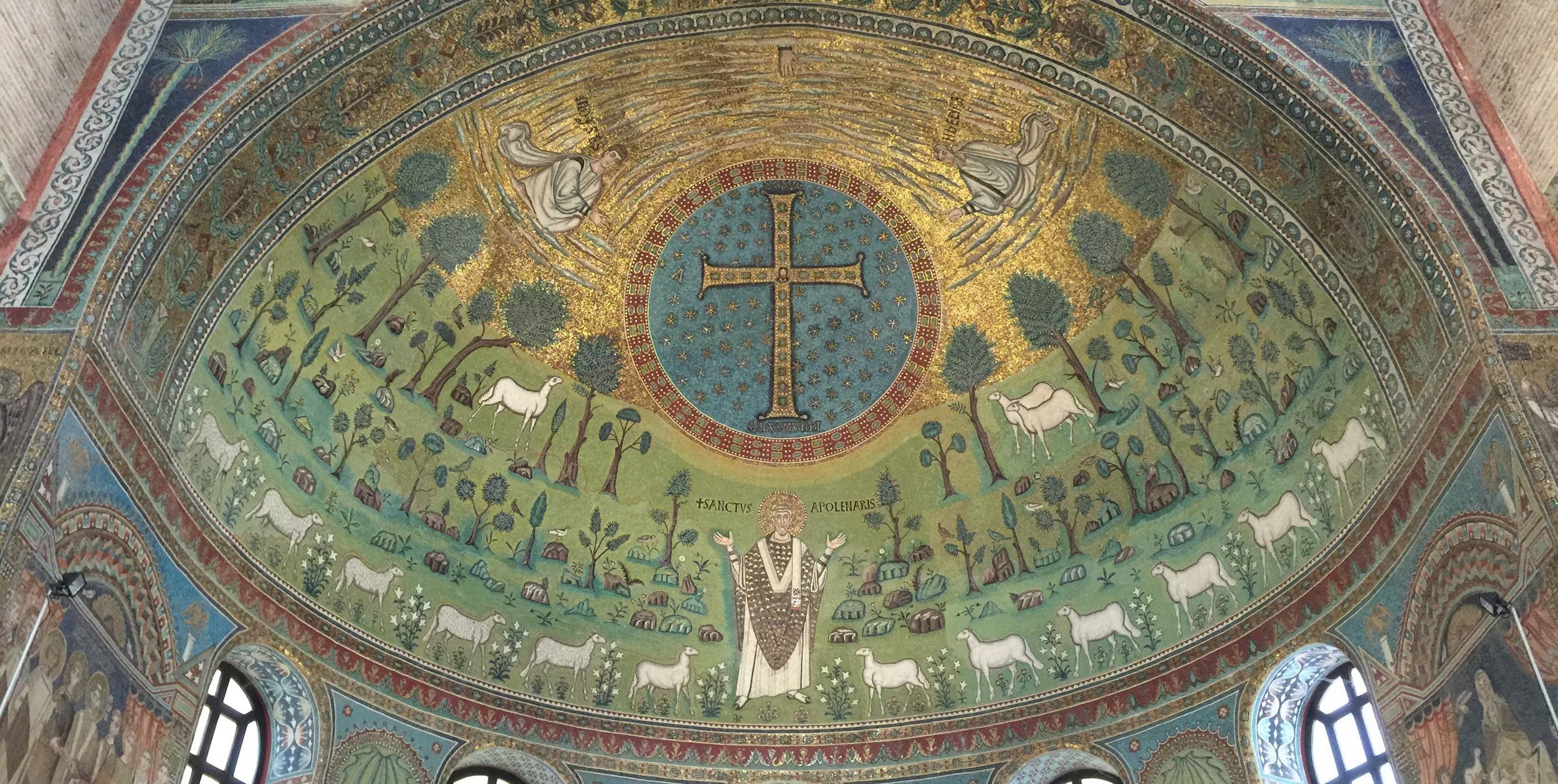 Basilica of Sant'Apollinaire in Classe (Ravenna) -- photo RYC