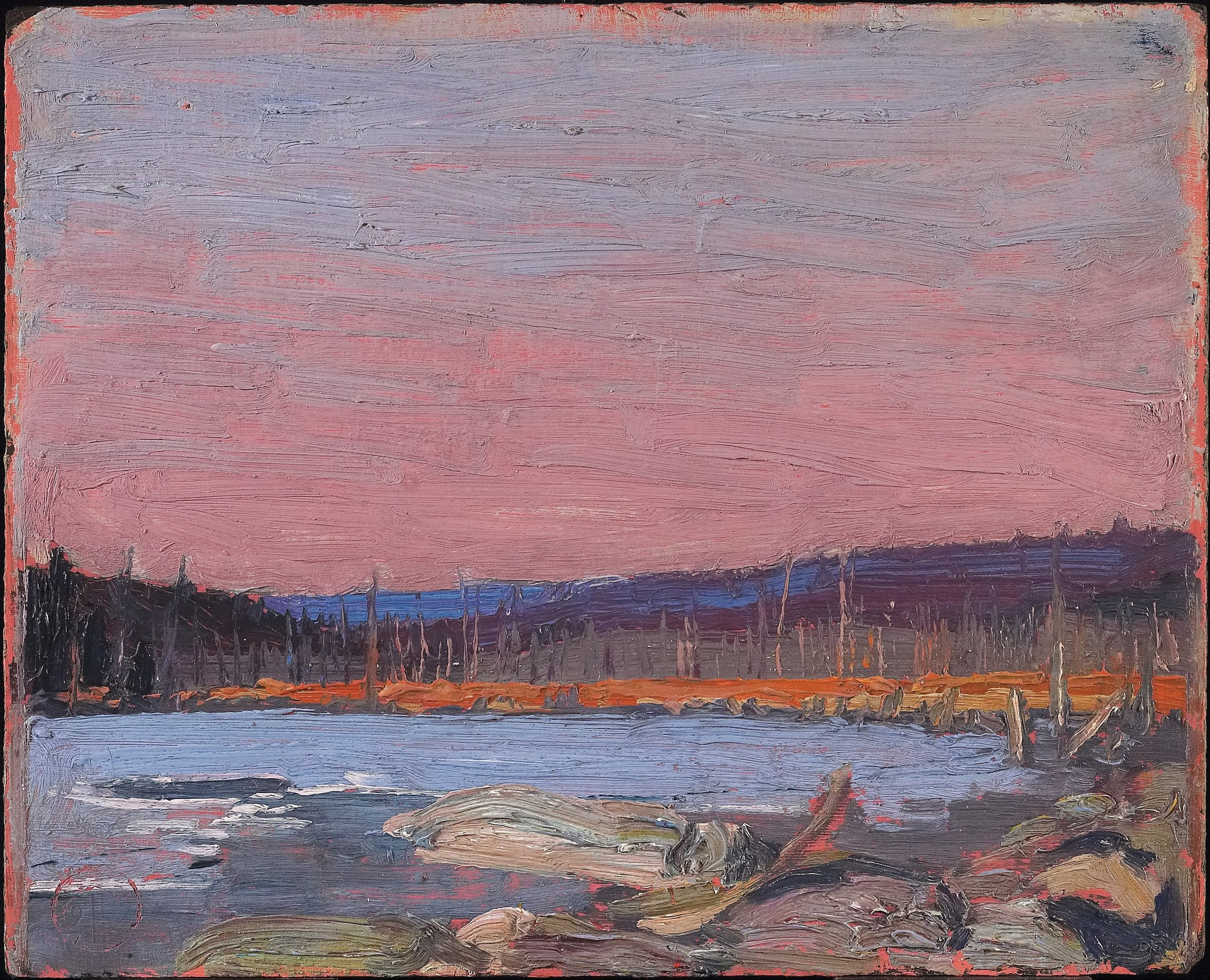 A Northern Lake , by Tom Thomson, 1911/21 (Wikimedia Commons)