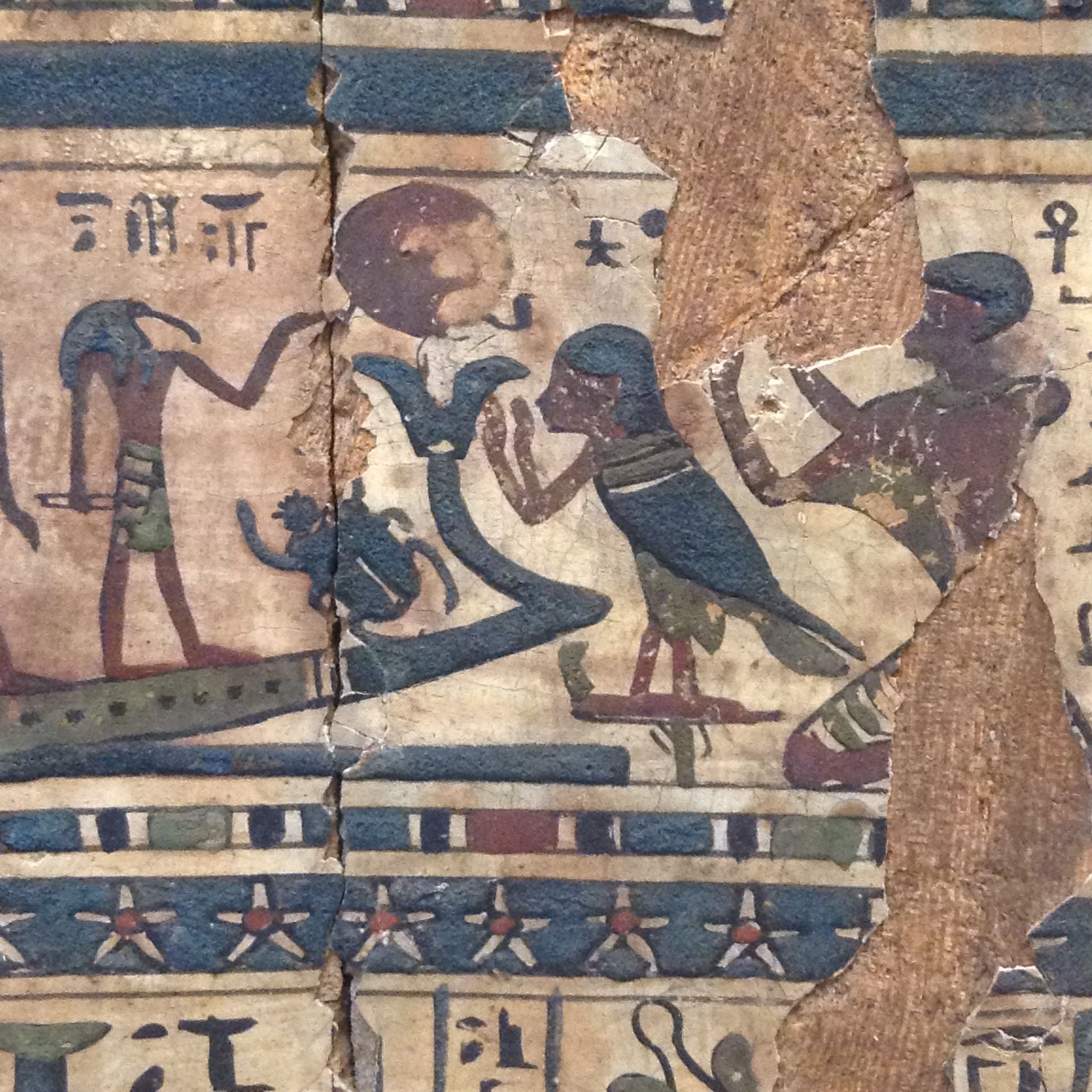 From the Egyptian Museum, Turin