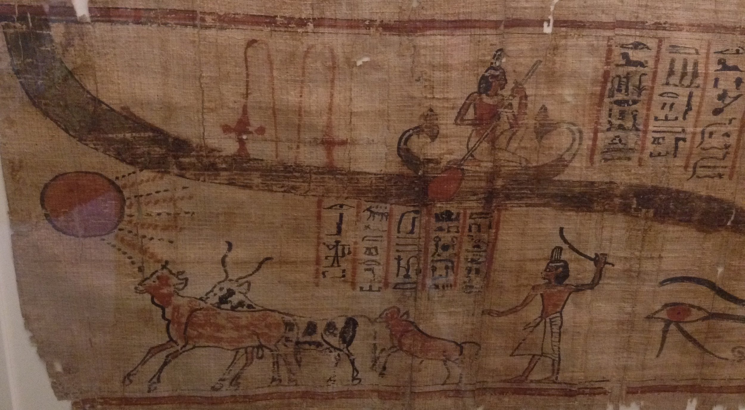 From the  Book of the Dead of Nebhepet , Thebes, c. 1070-946 BC, in the Egyptian Museum, Turin (photo RYC)