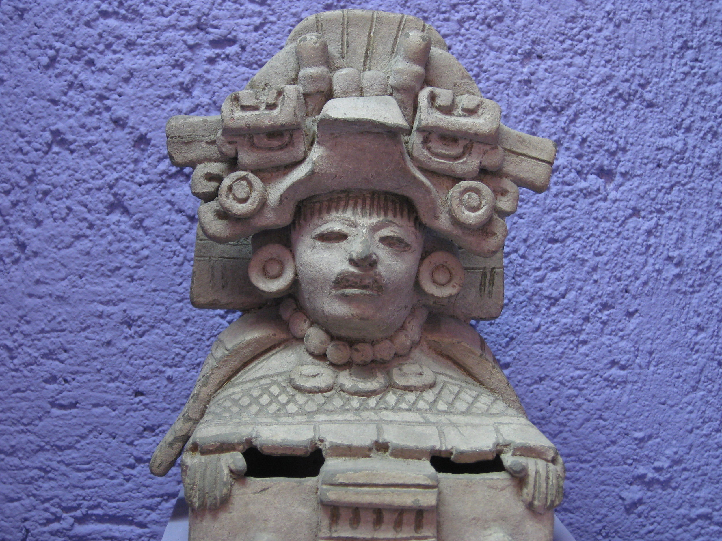 In the Rufino Tamayo Museum, Oaxaca City