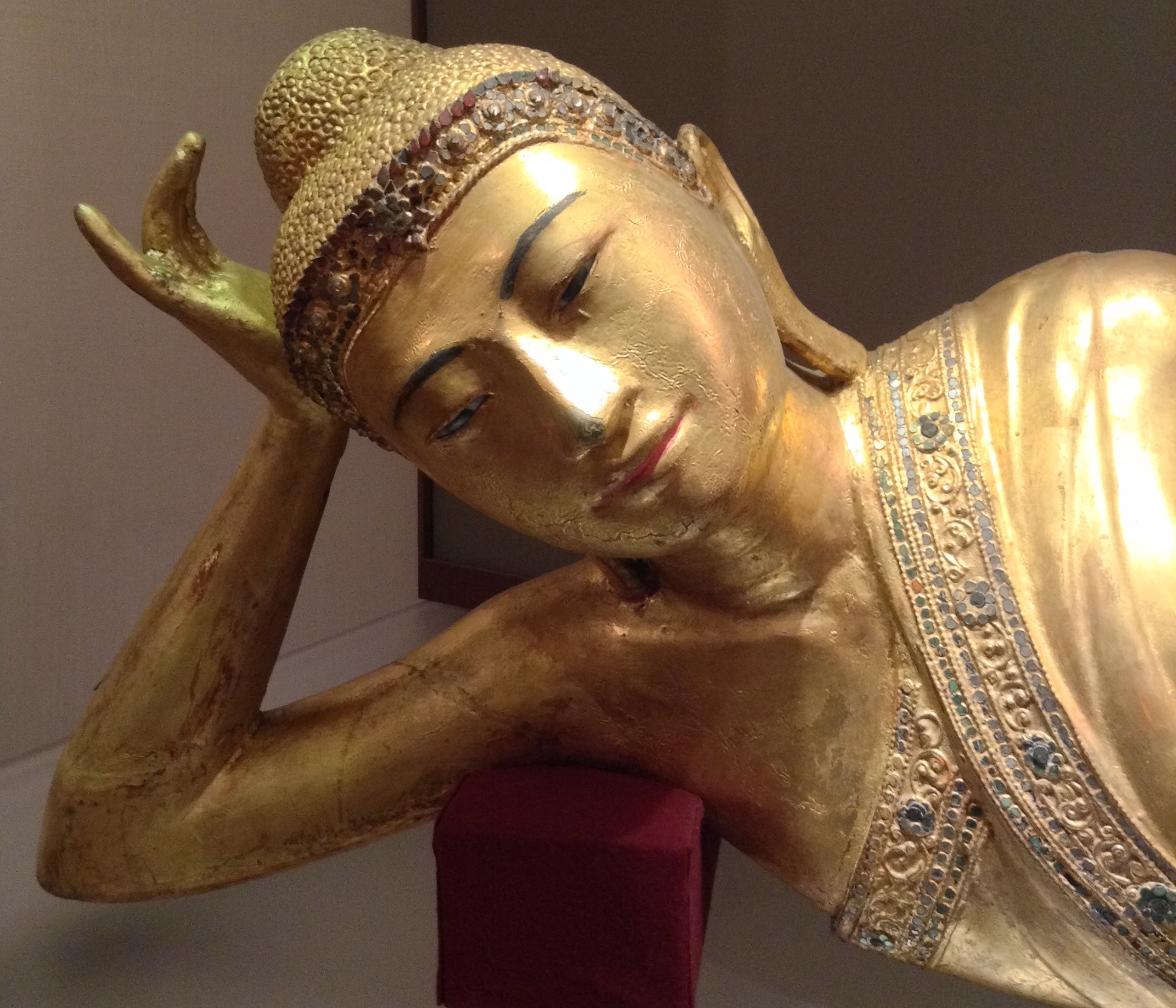 Buddha, from the Turin Museum of Oriental Art (photo RYC)