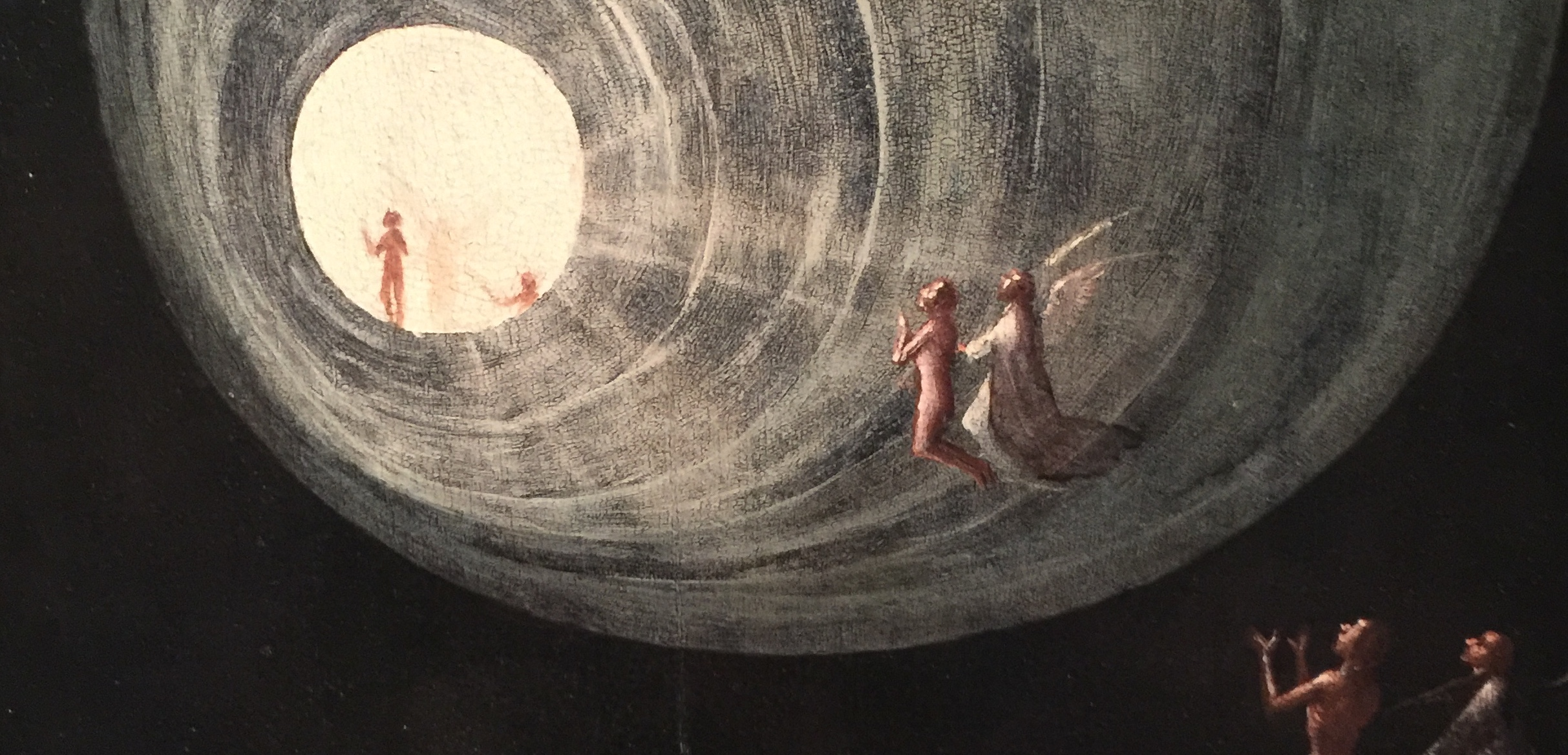 Visions of the Hereafter: Ascent to Heaven , Hieronymus Bosch, Gallerie dell'Accademia, Venice (photo RYC)