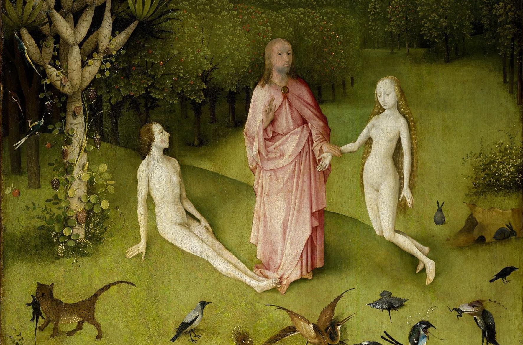 From  The Garden of Earthly Delights , 1480-1505, by Hieronymus Bosch