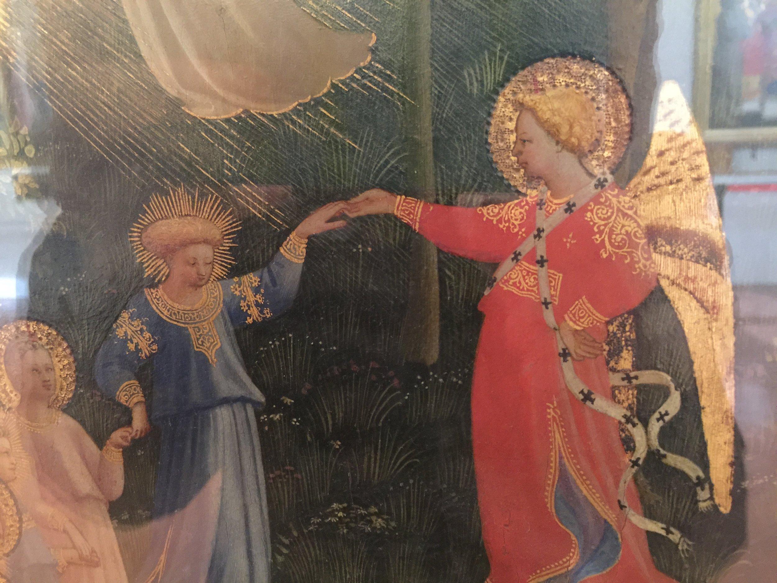 Last Judgement , Beato Angelico (Guido di Piero), third decade of 15th Century, Museo Nazionale di San Marco