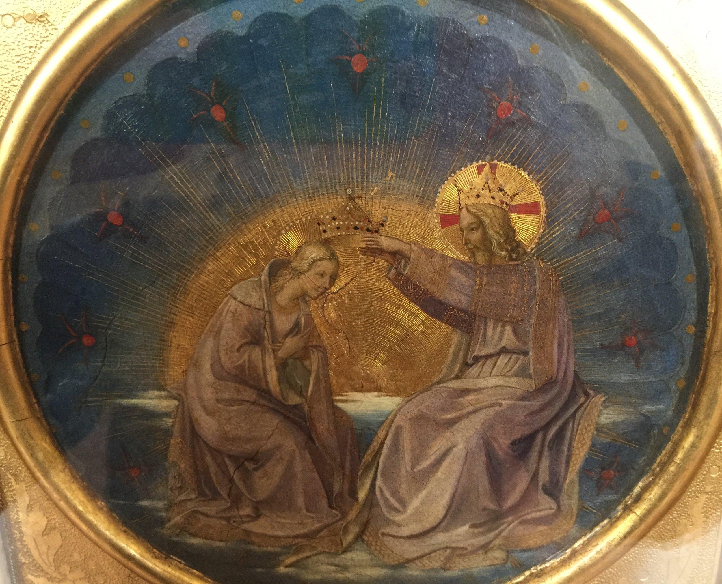 Coronation of the Virgin , Beato Angelico (Guido di Piero), Museo Nazionale di San Marco