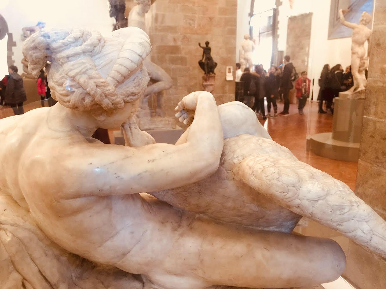 Leda and the Swan , c. 1536, Bartolomeo Ammannati, Bargello Museum