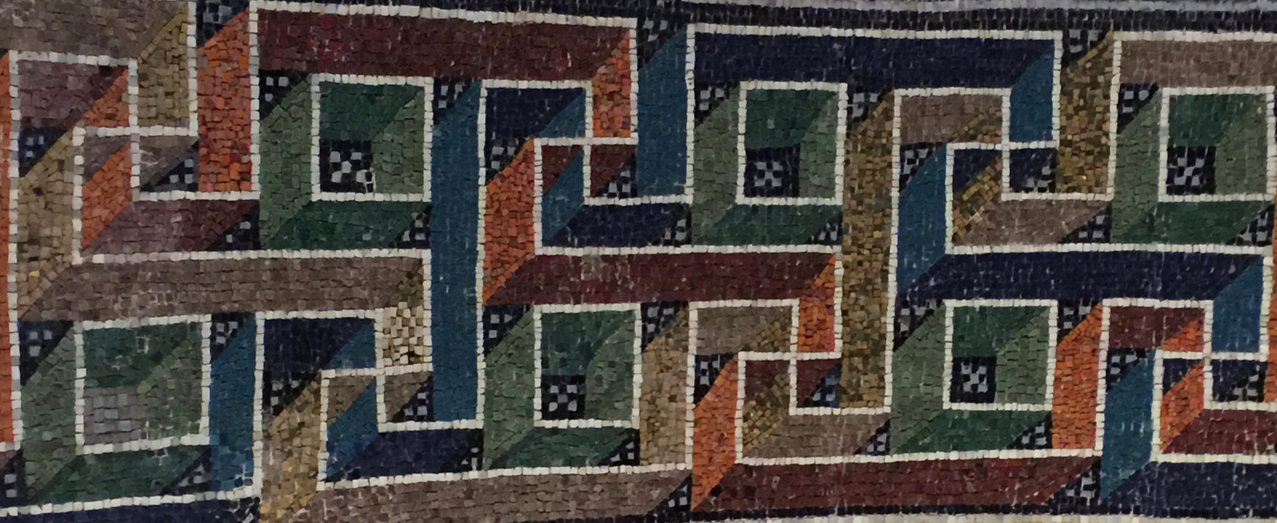 Mosaics in Classe (Ravenna) -- photo RYC