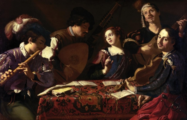 The Concert   (A Musical Party) , Theodoor Rombouts (1597 - 1637), from http://pictify.saatchigallery.com/79336/theodoor-rombouts-the-concert-a-musical-party