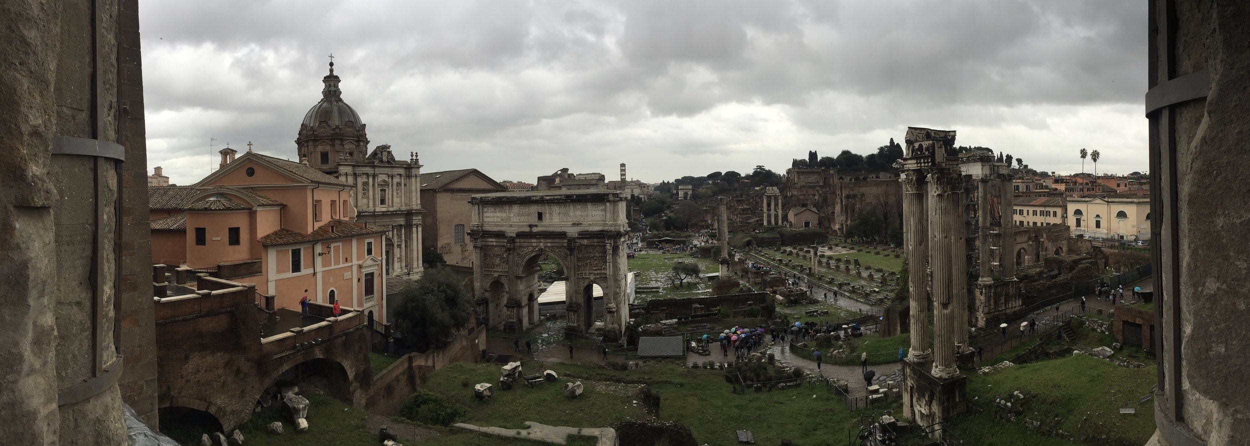 The Forum, Rome (photo RYC)