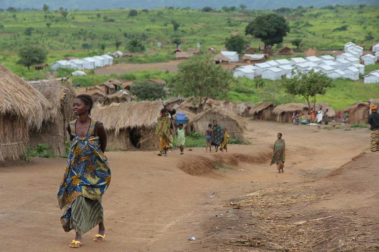 General view of Mushaba IDP camp in Katanga province, Democratic Republic of the Congo, DRC. Photo: OCHA/Gemma Cortes. http://www.un.org/apps/news/story.asp?NewsID=44821#.Vm3RlhorK-4