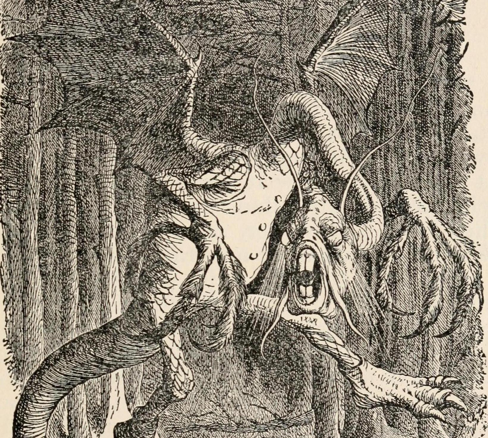 John Tenniel, from Wikimedia,  Internet Archive Book Images