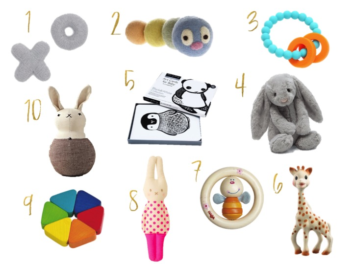 sophie the giraffe, haba, jelly cats, art cards, take organics, baby gifts, best gifts, rattles, hug rattle