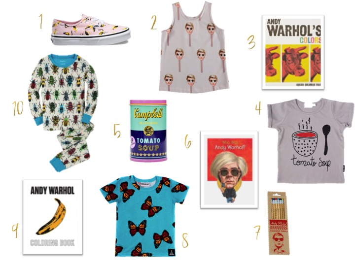 ANDY WARHOL INSPIRED GIFTS