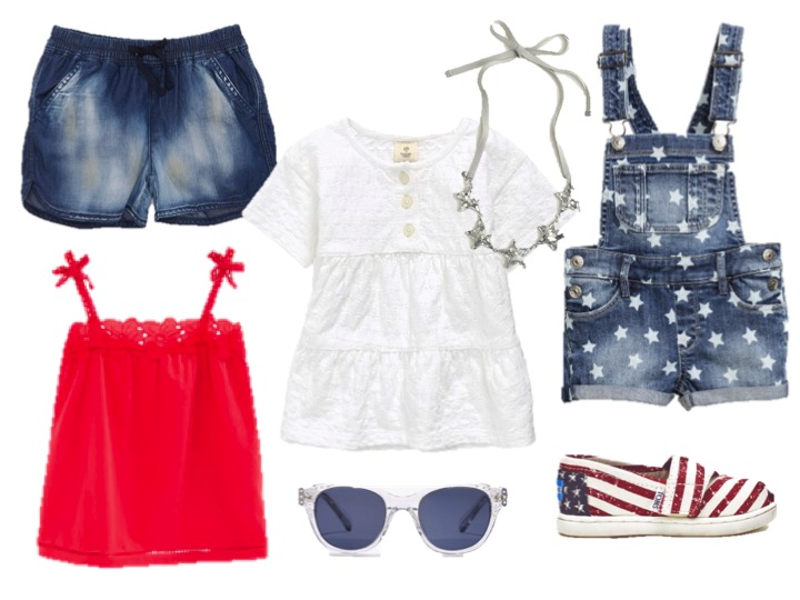 4TH OF JULY FASHION FOR GIRLS