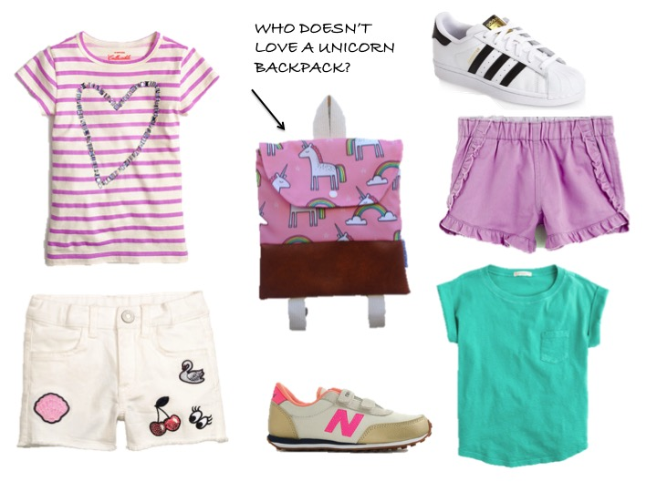 A DAY CAMP OUTFIT FOR GIRLS