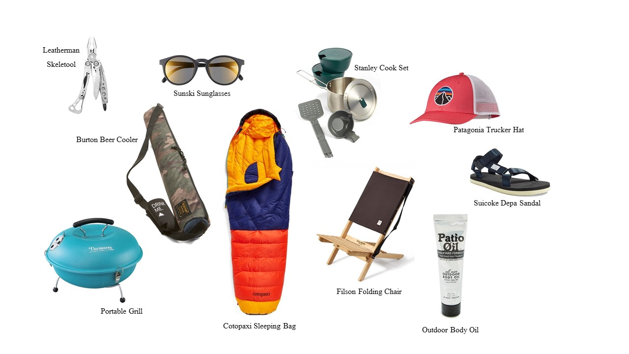 GIFTS FOR SUMMER CAMPING