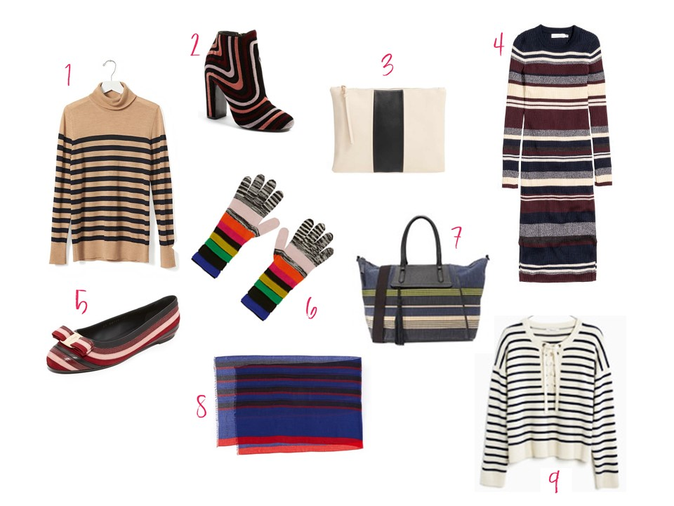 stripes fall trends