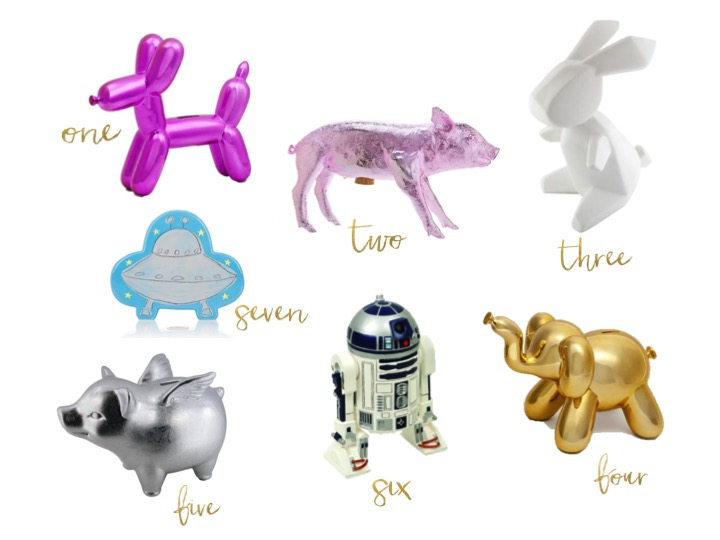 COOLEST PIGGY BANKS