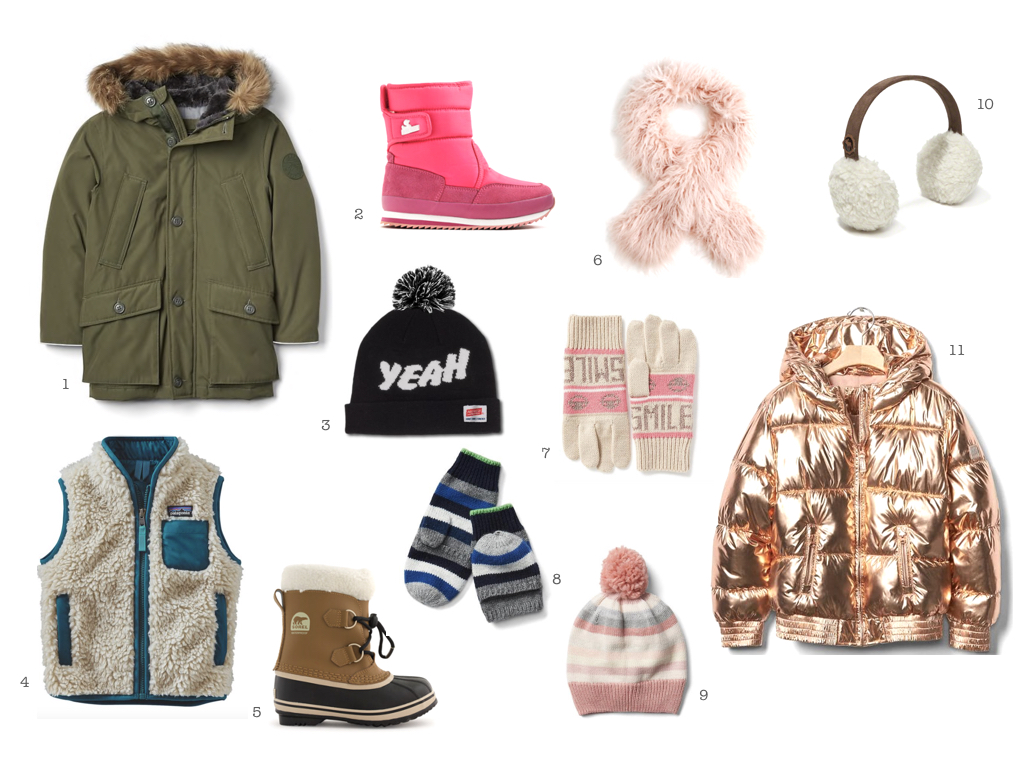STYLISH COLD WEATHER FOR KIDS