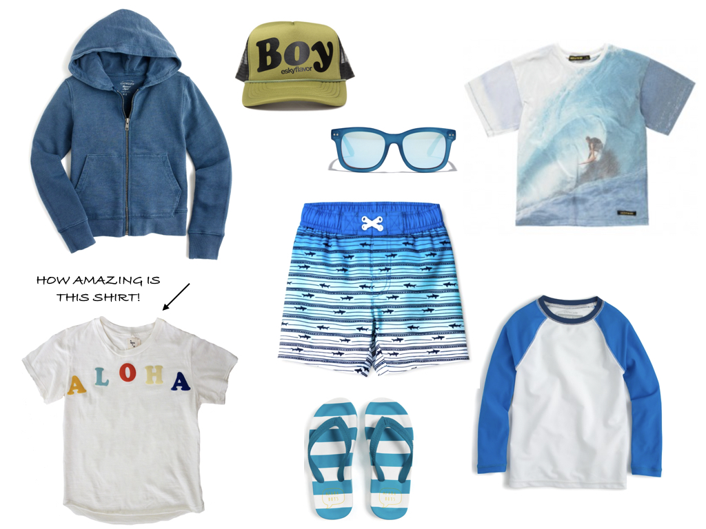 what to wear boys beach vacation