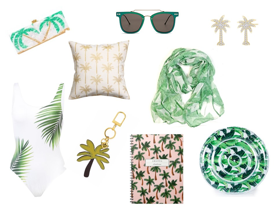 palm tree inspired gifts for her