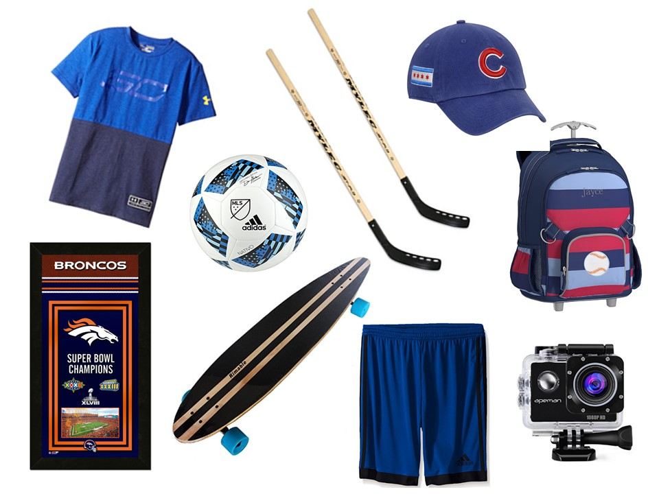 SPORTY KIDS GIFTS AGES 8 TO 12
