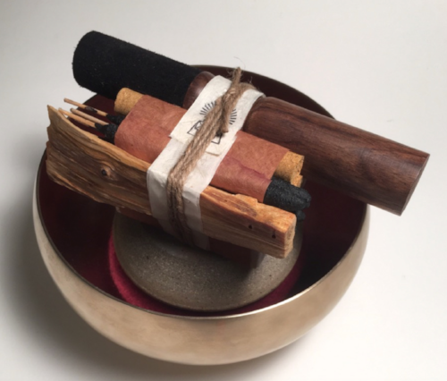 BATH AND MEDITATE SET