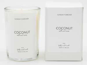 SUNDAY FOREVER COCONUT CANDLES