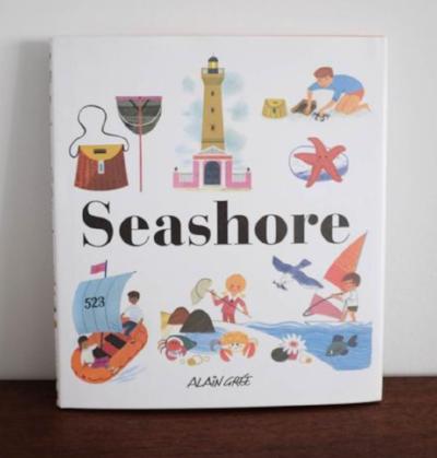 ALAIN GREE SEASHORE BOOK