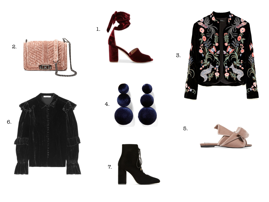 7 velvet items we love