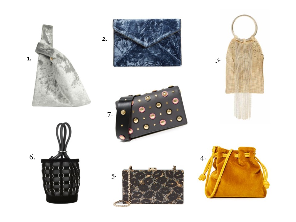 clutches and mini bags for evening out