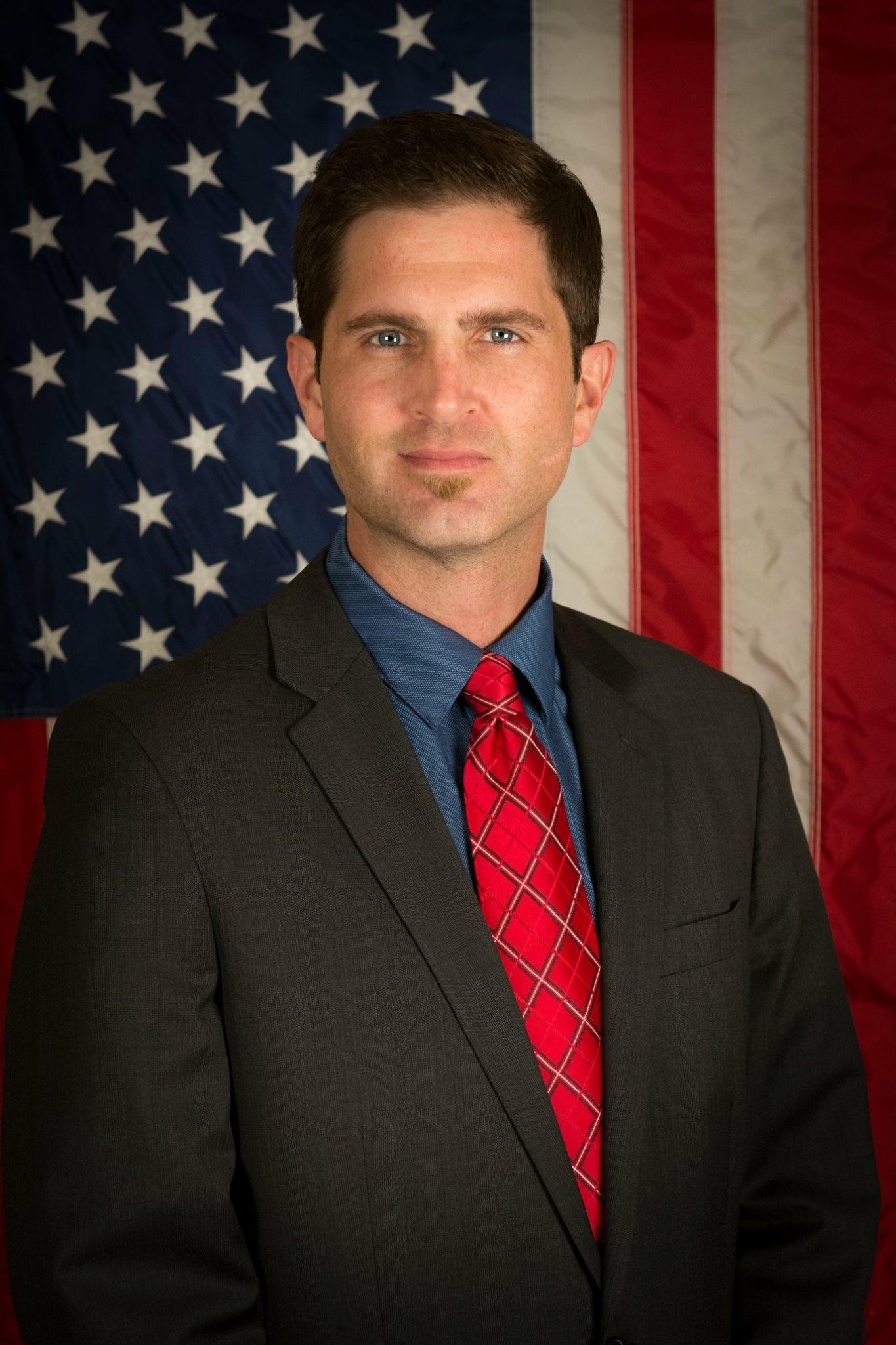 Tyson Manker, national director of Veterans For Bernie