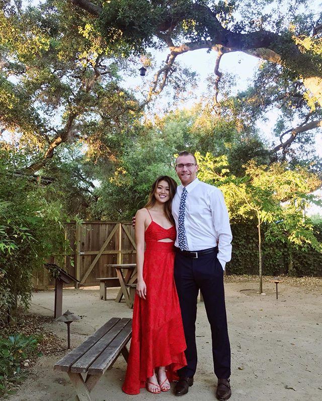 My little wifey is a wifey! ILYSM Congratulations @tiffanyannchen & @trandrew #tiffandrew