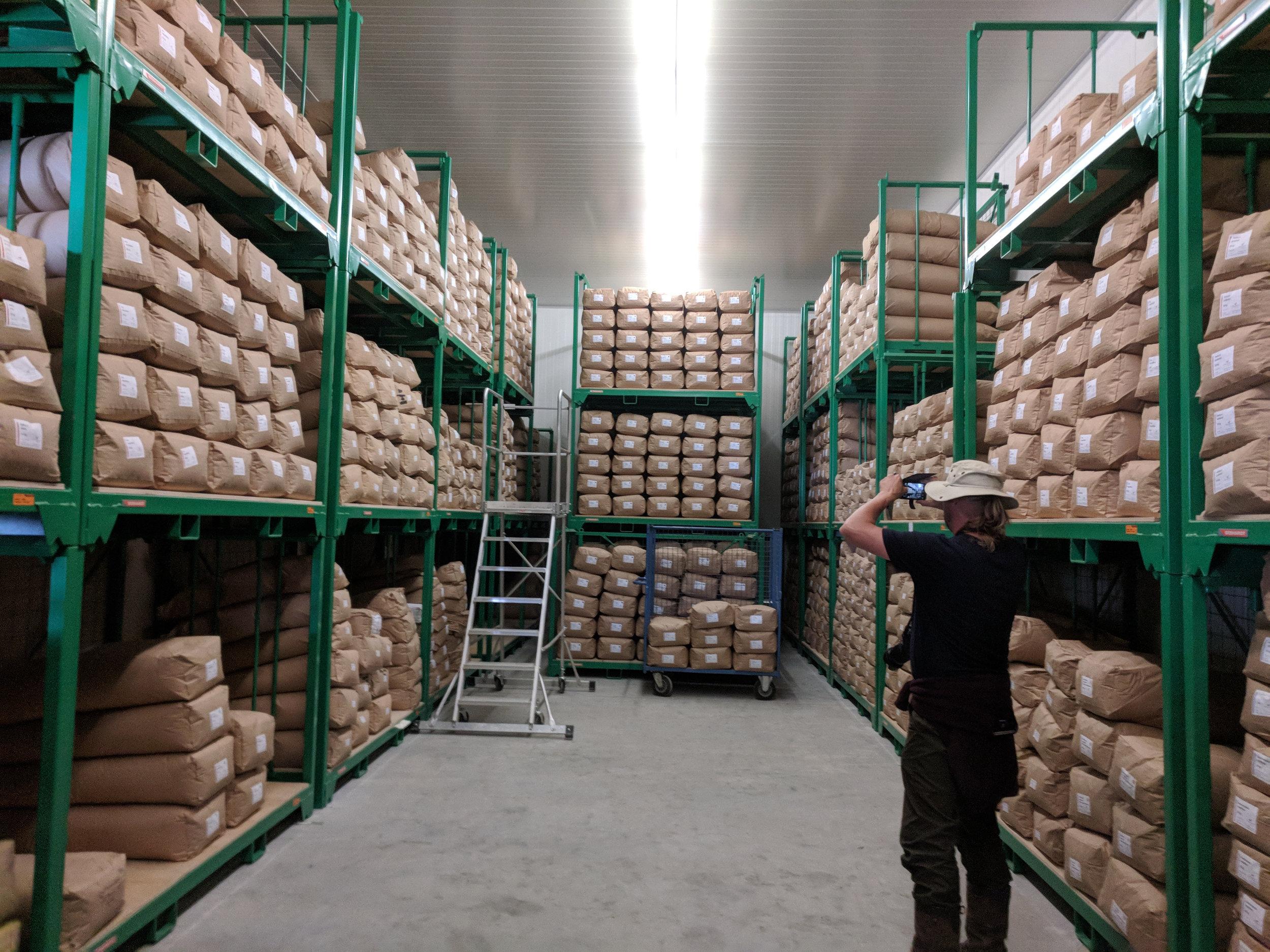 Johann Krimmer seed storage