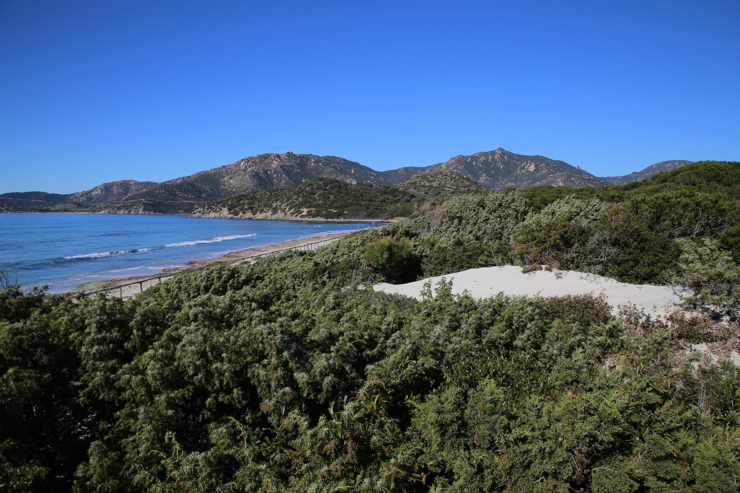 The Site of Community Importance  Isola dei Cavoli, Serpentara, Punta Molentis e Campulongu