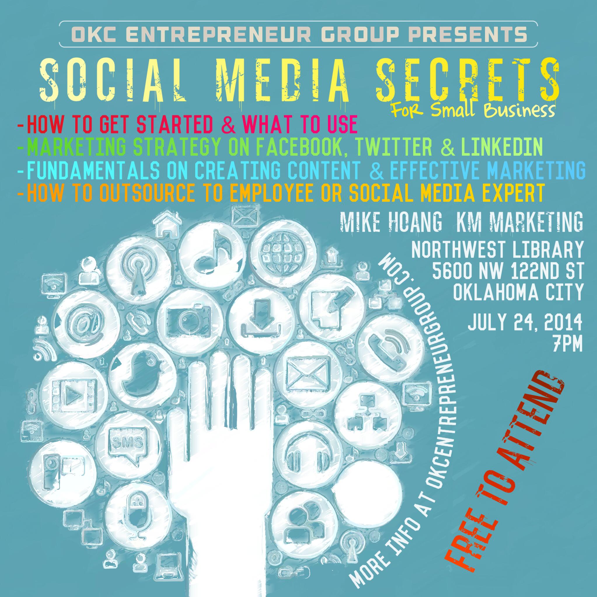 OKC Entrepreneur Group - Social Media Secrets.jpg