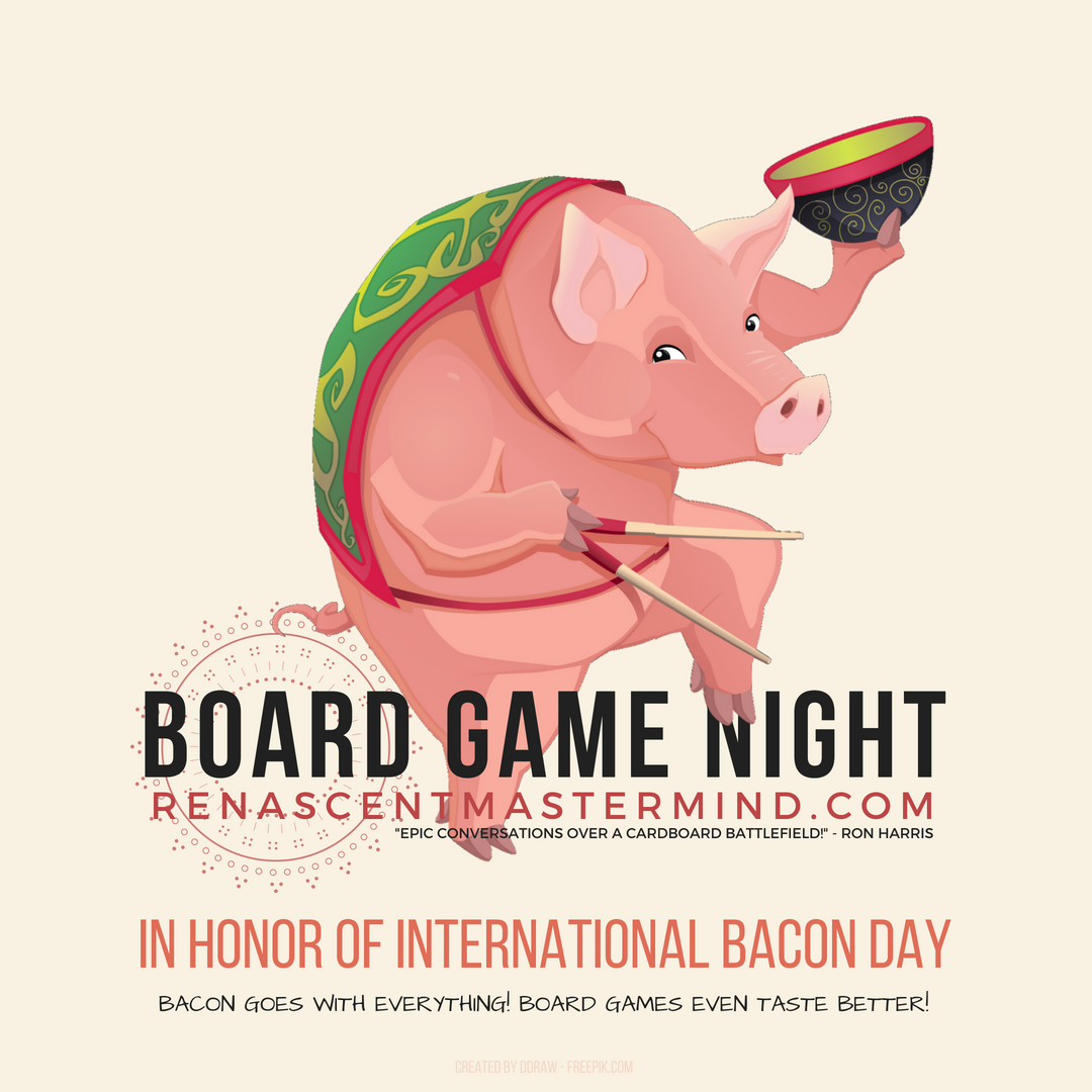 Board Game Night with Renascent Mastermind