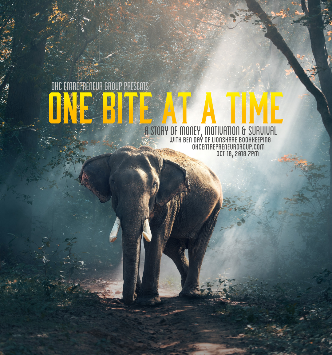 Copy of One Bite At A Time: A Story Money, Motivation & Survival