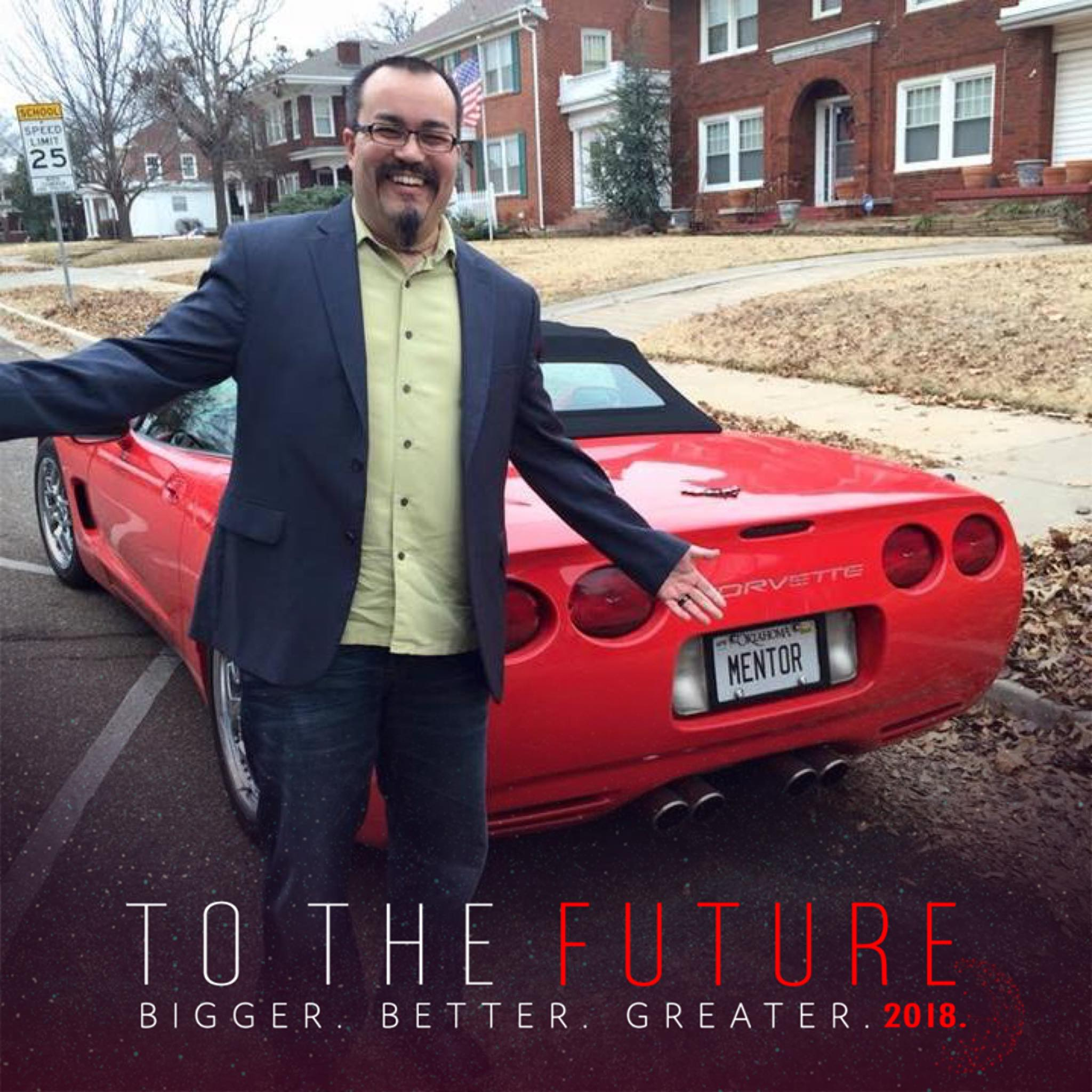 Red Corvette Mentor