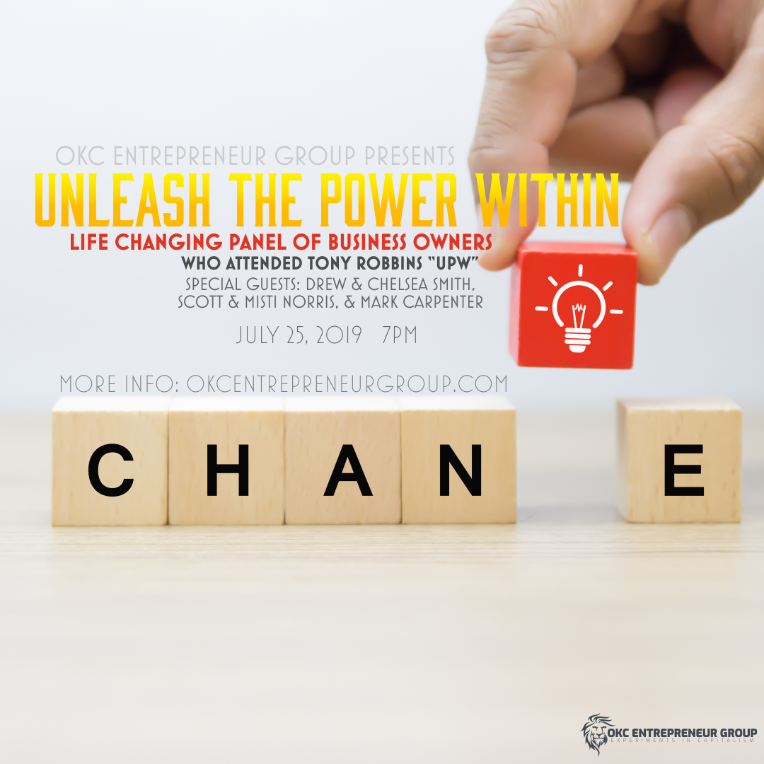 """Unleash The Power Within Life-Changing Panel of Business Owners who attended Tony Robbins """"UPW"""" event"""
