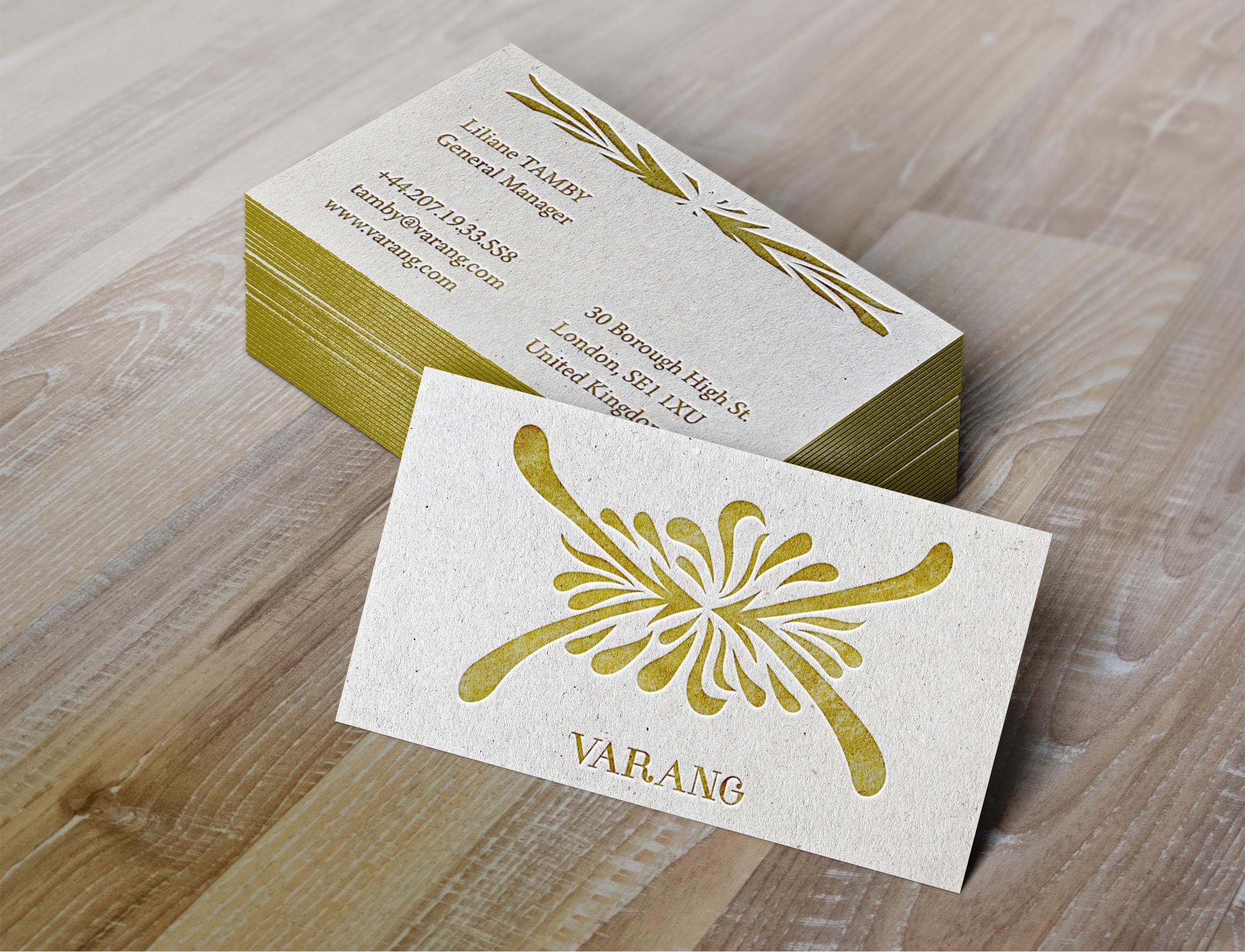 Varang - Business Card