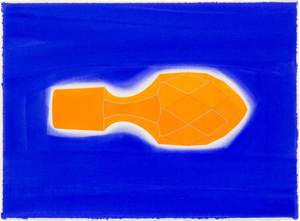 Dios lo ve 10, 2009. Watercolor and color pencil / paper. 56 x 76 cm